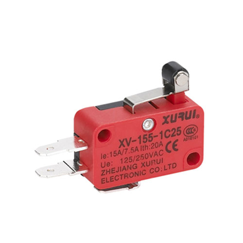 Micro Switch with Roller Lever XV-155-1C25