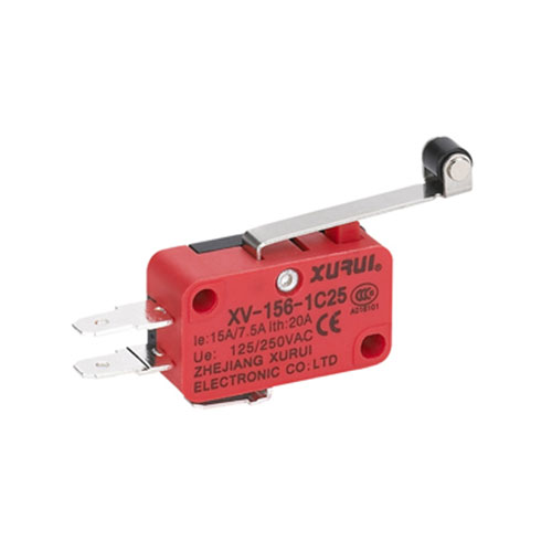 Micro Switch with Roller Lever XV-156-1C25