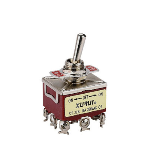 TPDT Toggle Switch XT-33BF